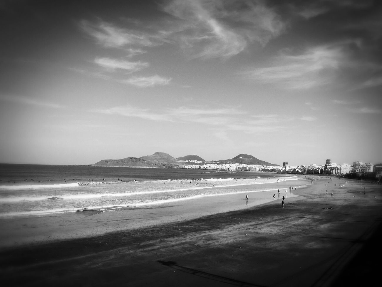 Beach Sea Sand Sky Coastline Day