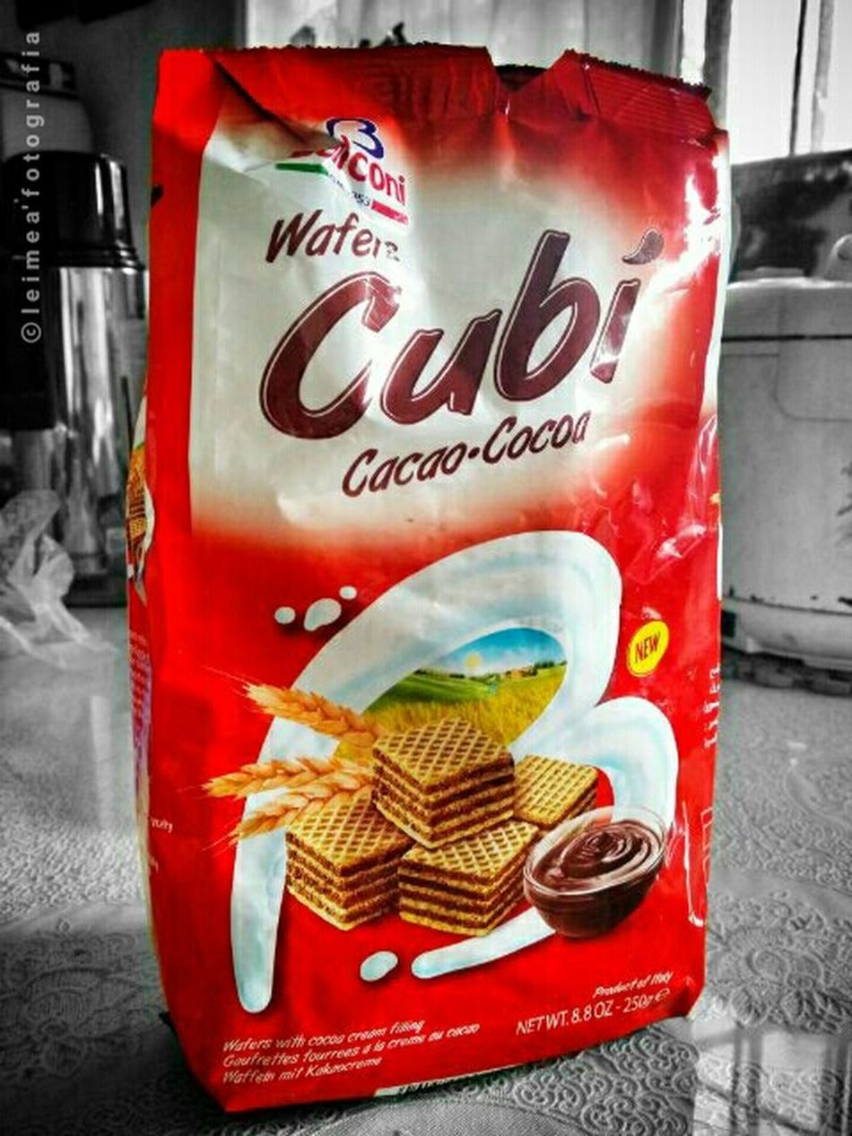 Crisp wafer perfect for coffee. Wafer Cubi YumYum Sogood Foodpic Androidography Photography Snap_edits Leimeafotografia Eyeem Philippines