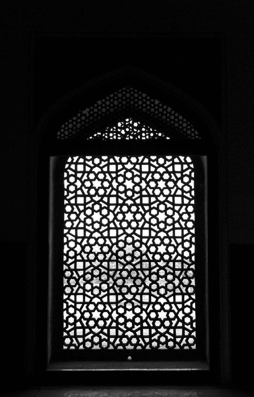 window, indoors, arch, pattern, no people, architecture, day, close-up