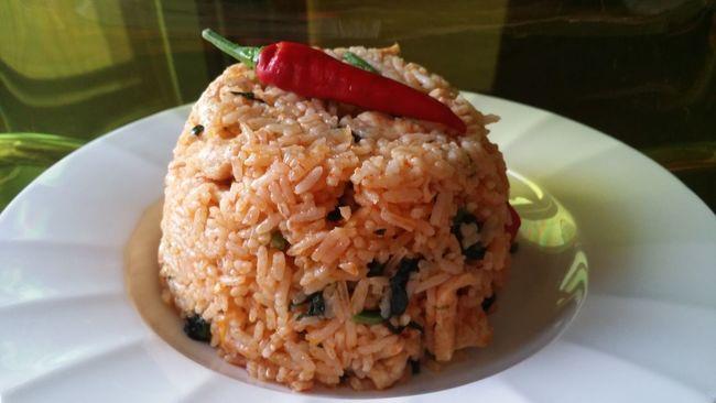 Food Porn Spicy Dinner Chicken Curry Rice