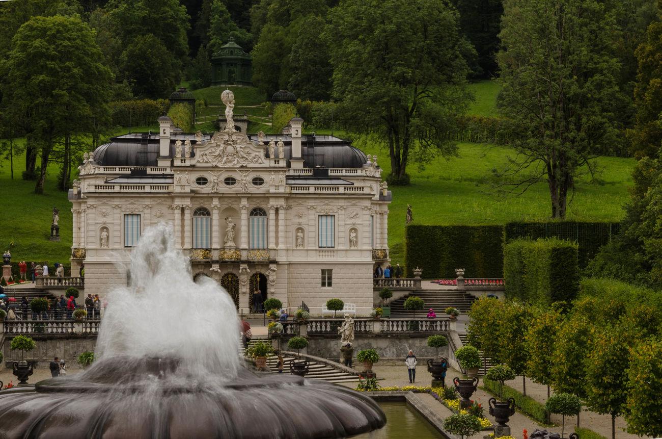 Architecture Building Castle Castle Grounds History Linderhof Outdoors Schloss Schlosspark