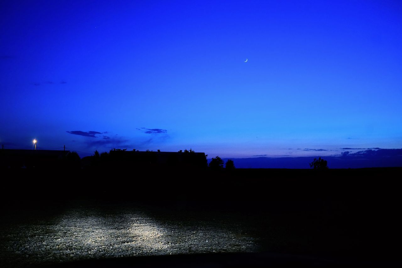 Visual journal May 2017 Beatrice. Nebraska A Day In The Life Blue Hour Blue Moon Camera Work Everyday Lives Eye For Photography EyeEm Best Shots EyeEm Gallery Fujifilm EF-20 FUJIFILM X100S Landscape Moonrise Nature Night No People Outdoors Photo Diary Practicing Photography Scenics Sky Small Town Stories Storytelling Tranquil Scene Tranquility Visual Journal