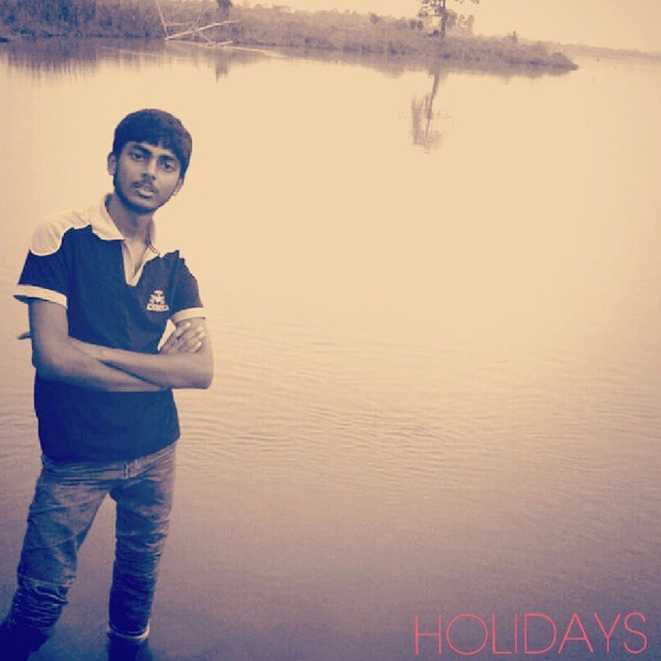 Alone Closefriend  একাকী_নদী Simle  Gentle Holidays Afterexam LoveTheMotherNature Goodone (Made withInstasquare )