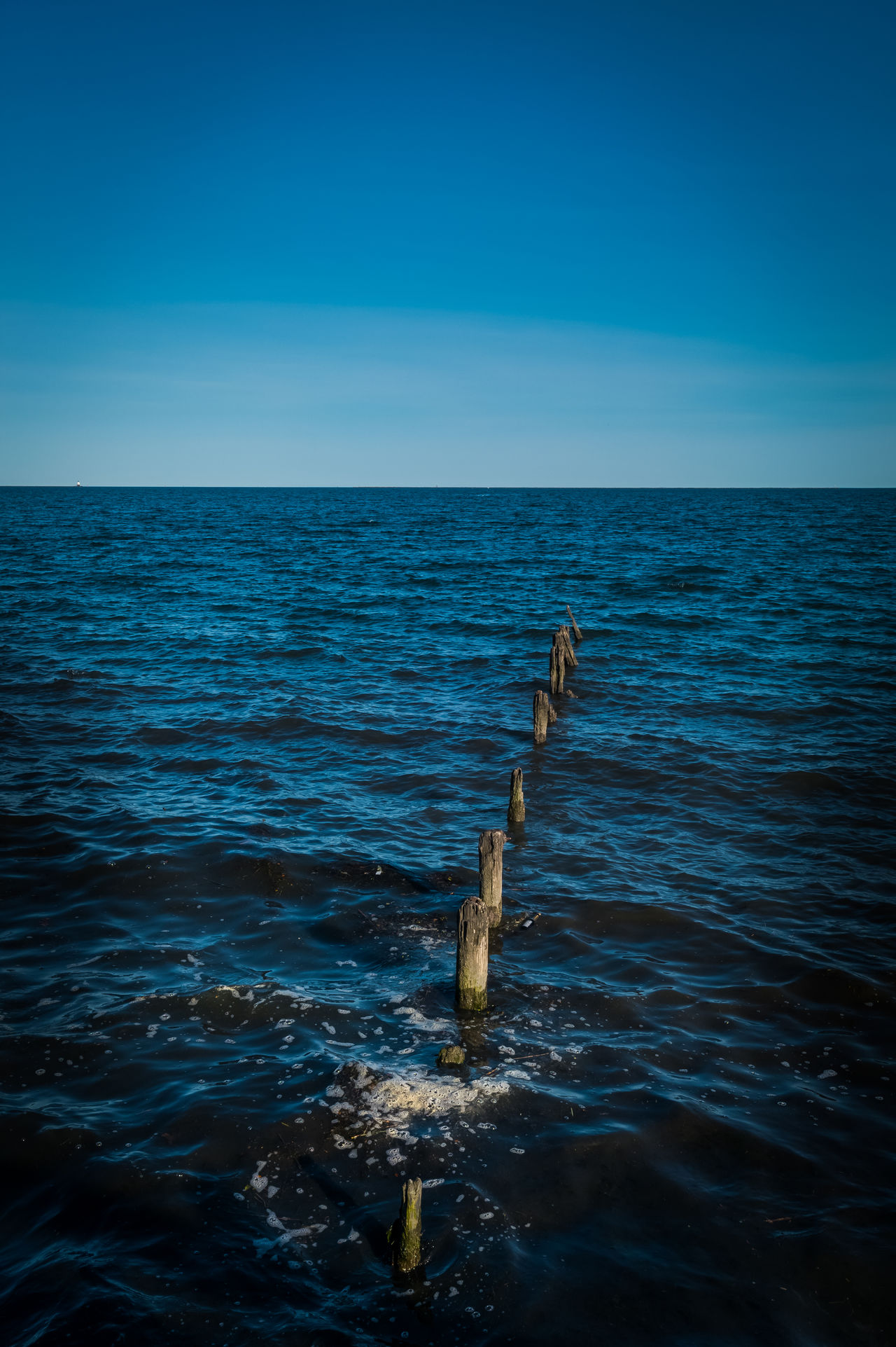 High Tide Beauty In Nature Blue Clear Sky Connecticut Day Horizon Over Water Nature New England  No People Outdoors Pilón Scenics Sea Selfie Sky So Tranquil Scene Tranquility Water Winter