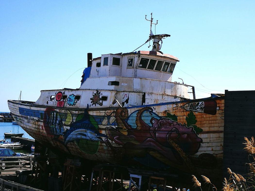 Nautical Vessel Sea Ship No People Harbor Day Beach Barca Da Pesca Sicilia Sicily The Week On EyeEm Boat Old Boats