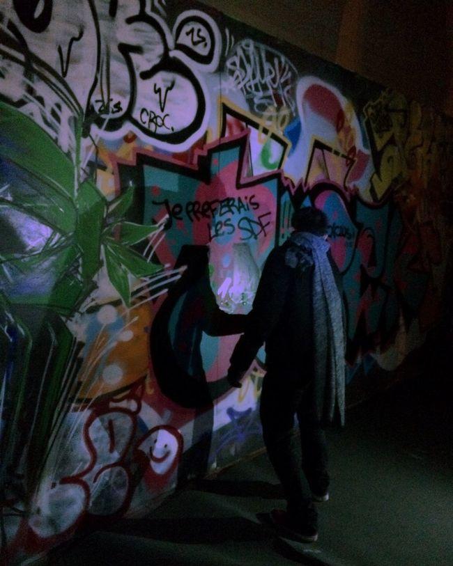 Bruxelles Art Graffiti Wall