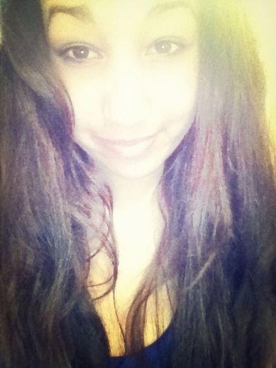 Hello World No Makeup Long Hair, Don't Care.