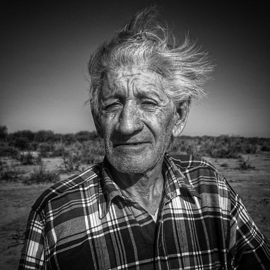 B&W Portrait Mendoza Desert People Bnw