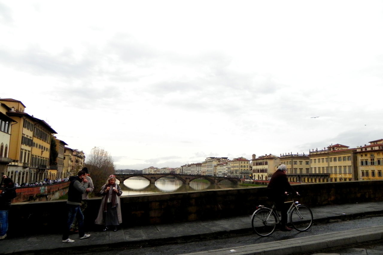 Florence Bridge - Man Made Structure Chilling City City Life Europe Florence Italy Lifestyles Relax Scenery Travel Travel Destinations Travel Photography