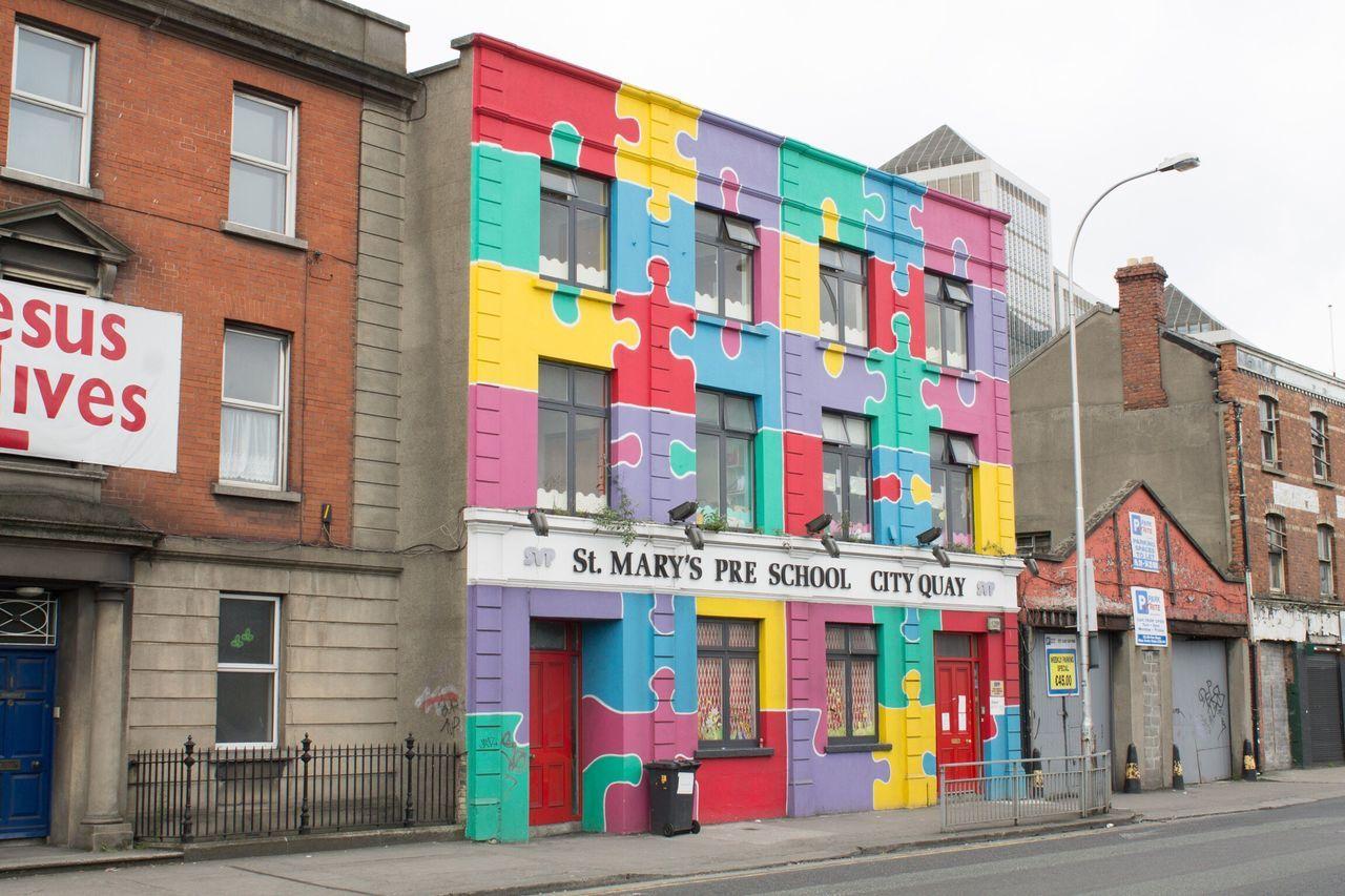 Dublin Ireland Irlanda Irland Puzzle  Rompecabezas Art Kunst Arte Colour Of Life Art Is Everywhere