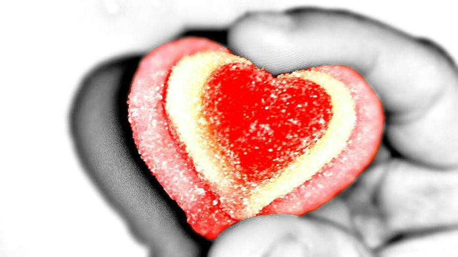 Colorsplash Heart Candy Sweet Minimalism Chuches