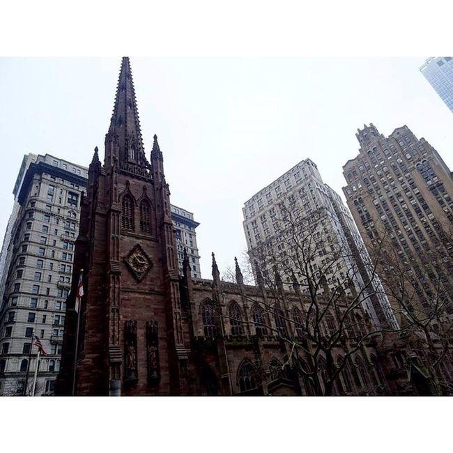 Newyork Newyorkcity NYC Sony Sonyhx50 HX50 Snow Architecture Fog Church