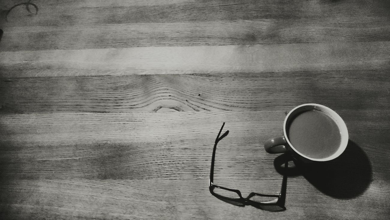Relaxation Coffee Coffeetable Glasses Bw Wooden Table Texture Oak Pause Break