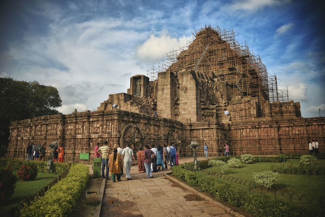 KONARK TEMPLE Konark Sun Temple Konarktemple Puri Beach Indiapictures Outdoors Indian Indianphotographer Puri Indiaclicks Indianstories Landscape India