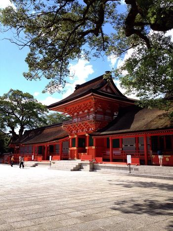 Architecture Japanese Shrine Japanese Style Culture History Spirituality Tranquility Landscape Red Japan Photography Eye4photography  Ultimate Japan Hello World Check This Out Capture The Moment Getting Inspired Taking Photos EyeEm Gallery EyeEm Summer Location Travel Ooita Japan Majestic