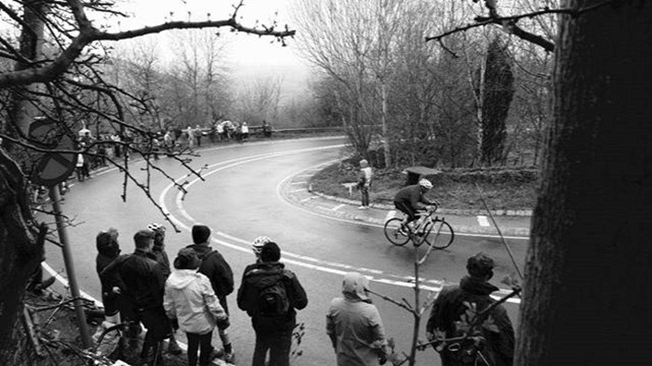 Suttonbank Tdy Yorkshire Cyclist Leica Bandw