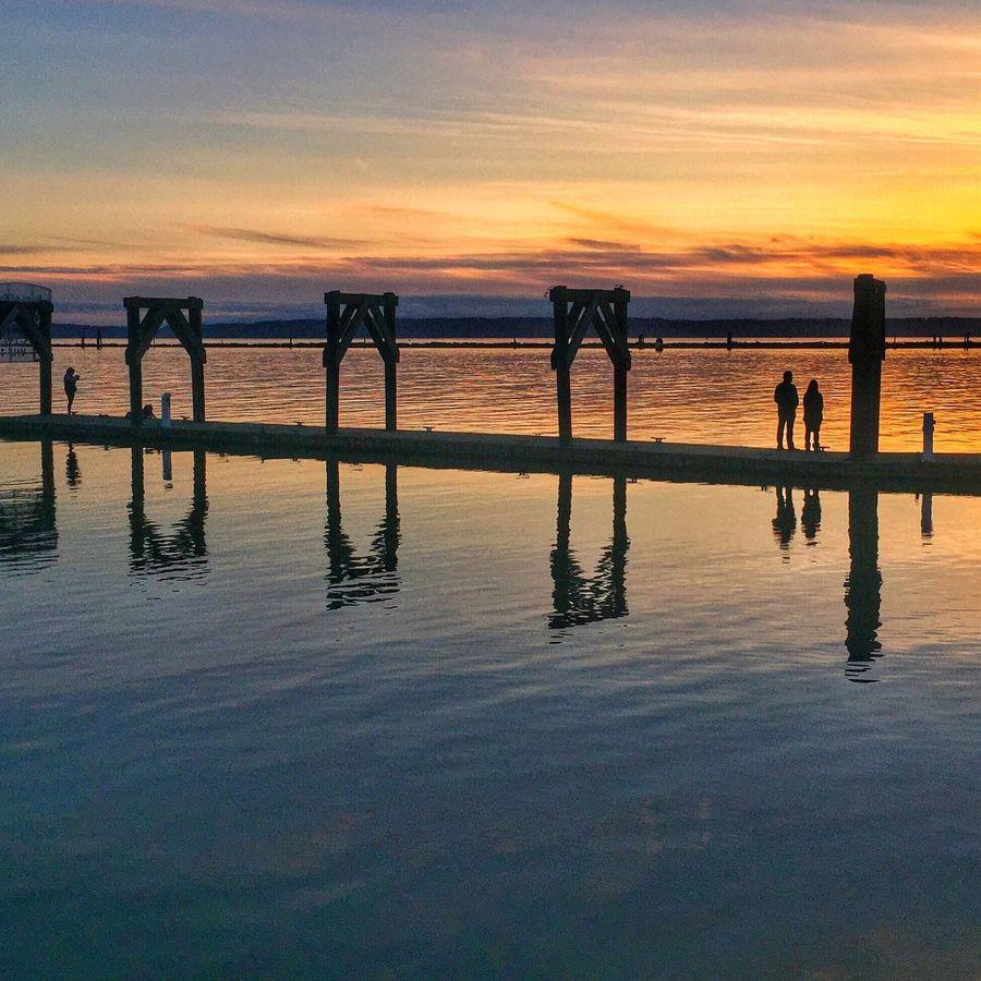 Sunset at Everett Marina, WA silhouettes Travelphotography Traveltheworld IPhone 6+ Iphonephotography Enjoying Life The week on EyeEm The Great Outdoors - 2016 EyeEm Awards