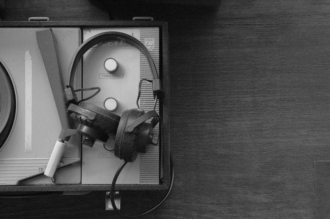 Turntable Black And White 35mm Film Nikon FA Ilford Film Ilford 400 Film Is Not Dead