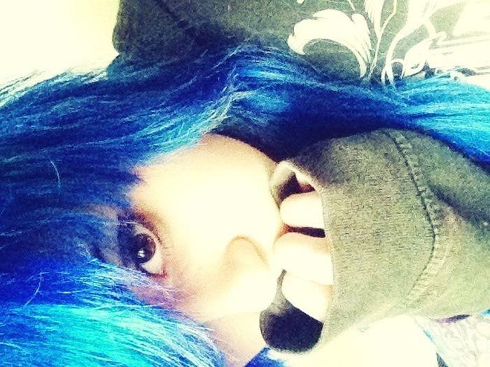 Hair Blue Change Colored Hair