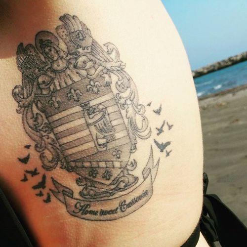 Kosicankanacestach Vranare Beach Tattooslovakia Crows Homesweethome Inked Tattoo Ink Inkedchicks Košice Kosicegirl Erb Cassovia Slovakia Angel Tattoooftheday