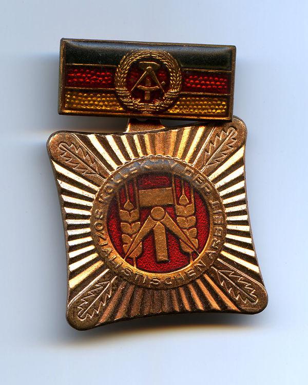 AWARD Close-up DDR Time Eastgermany Honor Man Made Object Nostalgie Orden