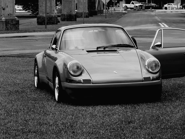Taking Photos Porche Cars Black And White Photography