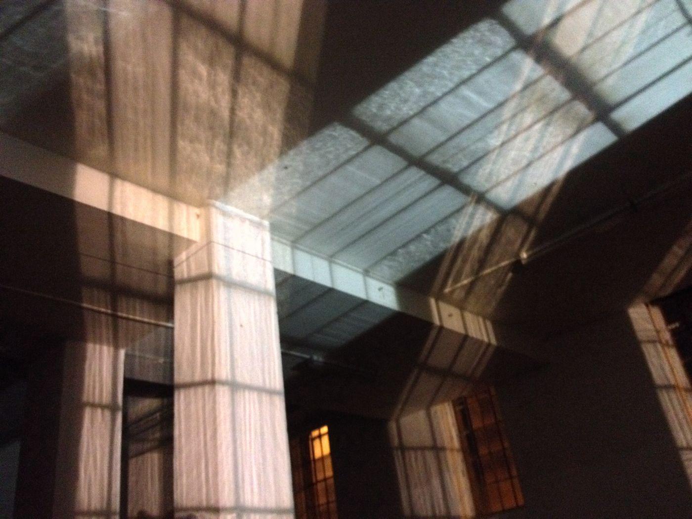 Lights Industrial Window