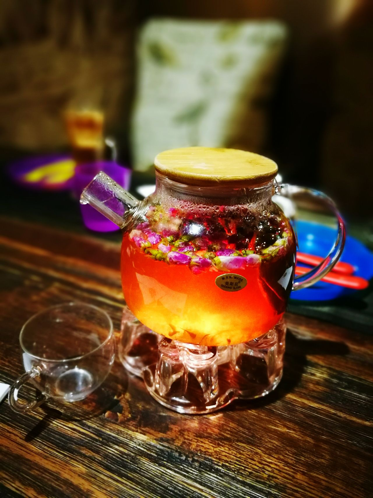 Rose Tea Drinking Glass Sweet Food Drink Freshness