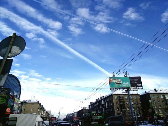 Sunshine and snow Snow ❄ Sun ☀ Enjoying Life First Eyeem Photo Novosibirsk НГТУ НГТУ