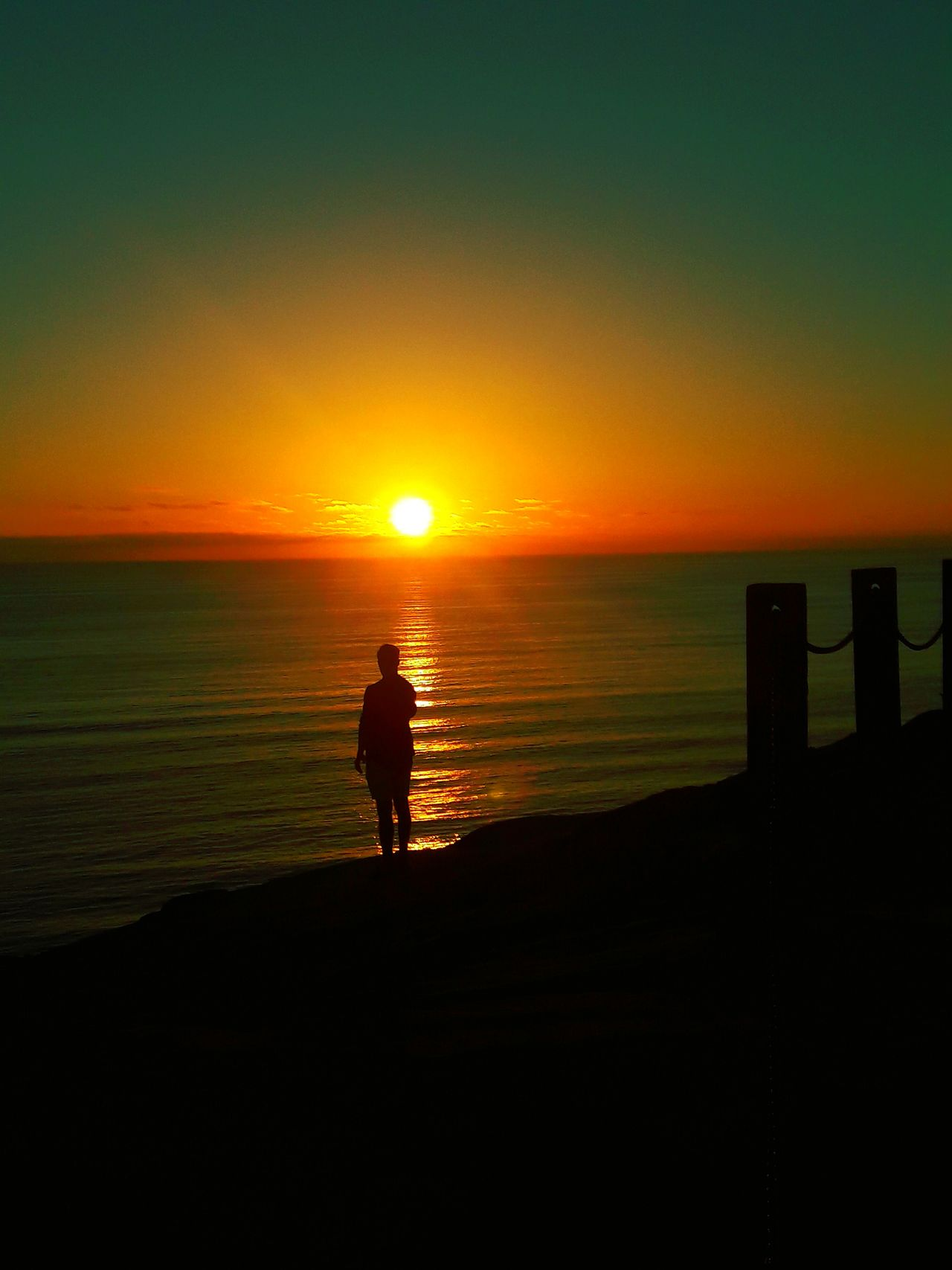 Shadow Man Sunset Sea Beach Silhouette Horizon Over Water Tranquility Beauty In Nature Sun Nature One Person Tranquil Scene Water Vacations Scenics Sky Sand Full Length Travel Destinations Weekend Activities Sunlight West Cost The Best Cost!  The Great Outdoors - 2017 EyeEm Awards EyeEmNewHere