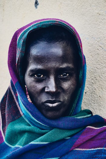 #africanlife #Ethiopia Day Front View Looking At Camera One Person Portrait Real People Young Adult
