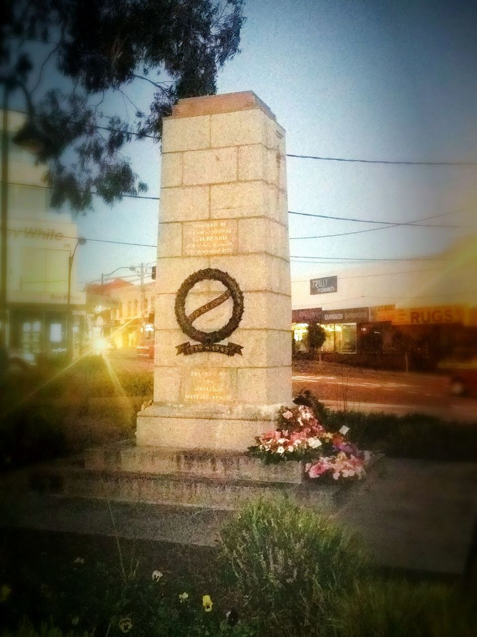 My Country In A Photo ANZAC Memorial Proud Australian Diggers Paying My Respects Sunset Multiculturalism