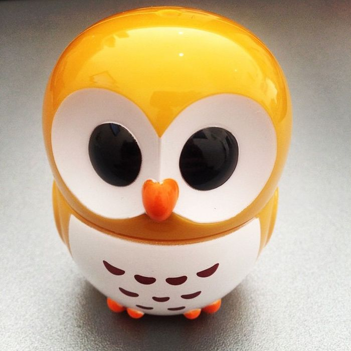 My little desk friend, always puts a smile on my face! Owlie Workbuddy