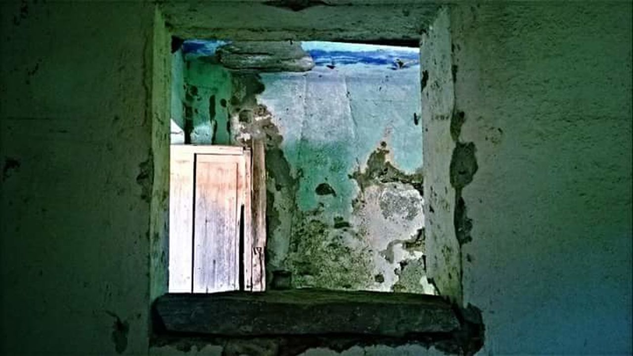Ghost Town Gairo Sardinia Sardegna Italy  Particular Day No People Built Structure Old House