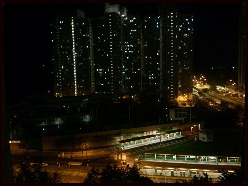 Night Lights @ tin king Tuen mun west swimming pool Goodnight