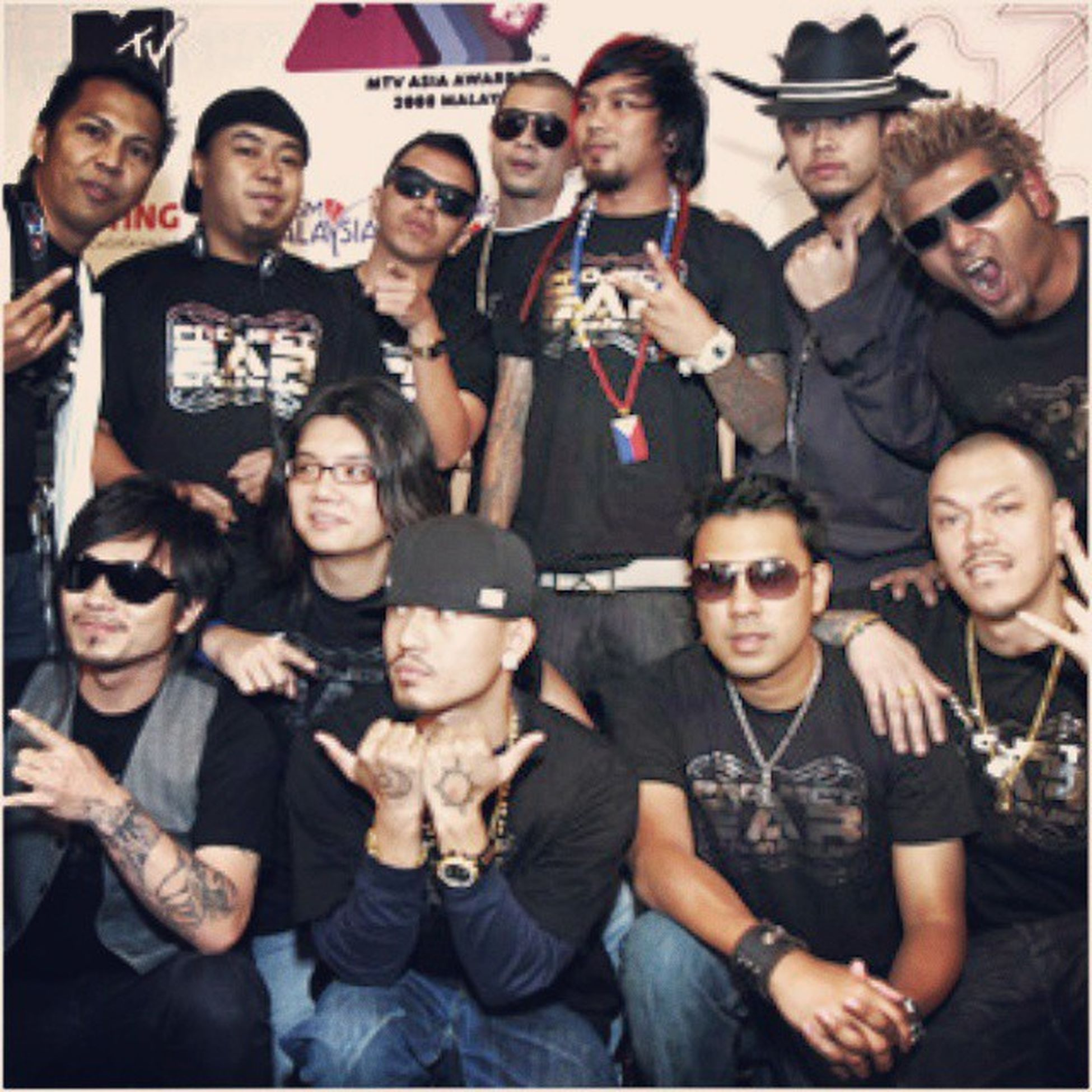 Project E.A.R. (East Asian Revolution) is a supergroup of bands and acts from within South East Asia. Saintloco (Indonesia) Popshuvit (Malaysia) Thaitanium (Thailand) Slapshock (Philipinnes)