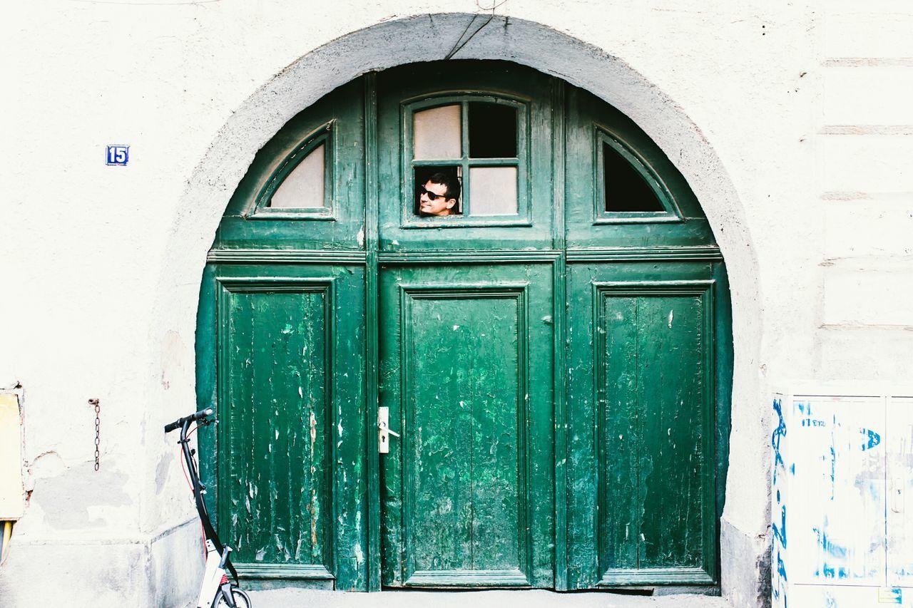 Streetphotography Door Green Fun Floatinghead Colors Romania Sibiu Street Doors