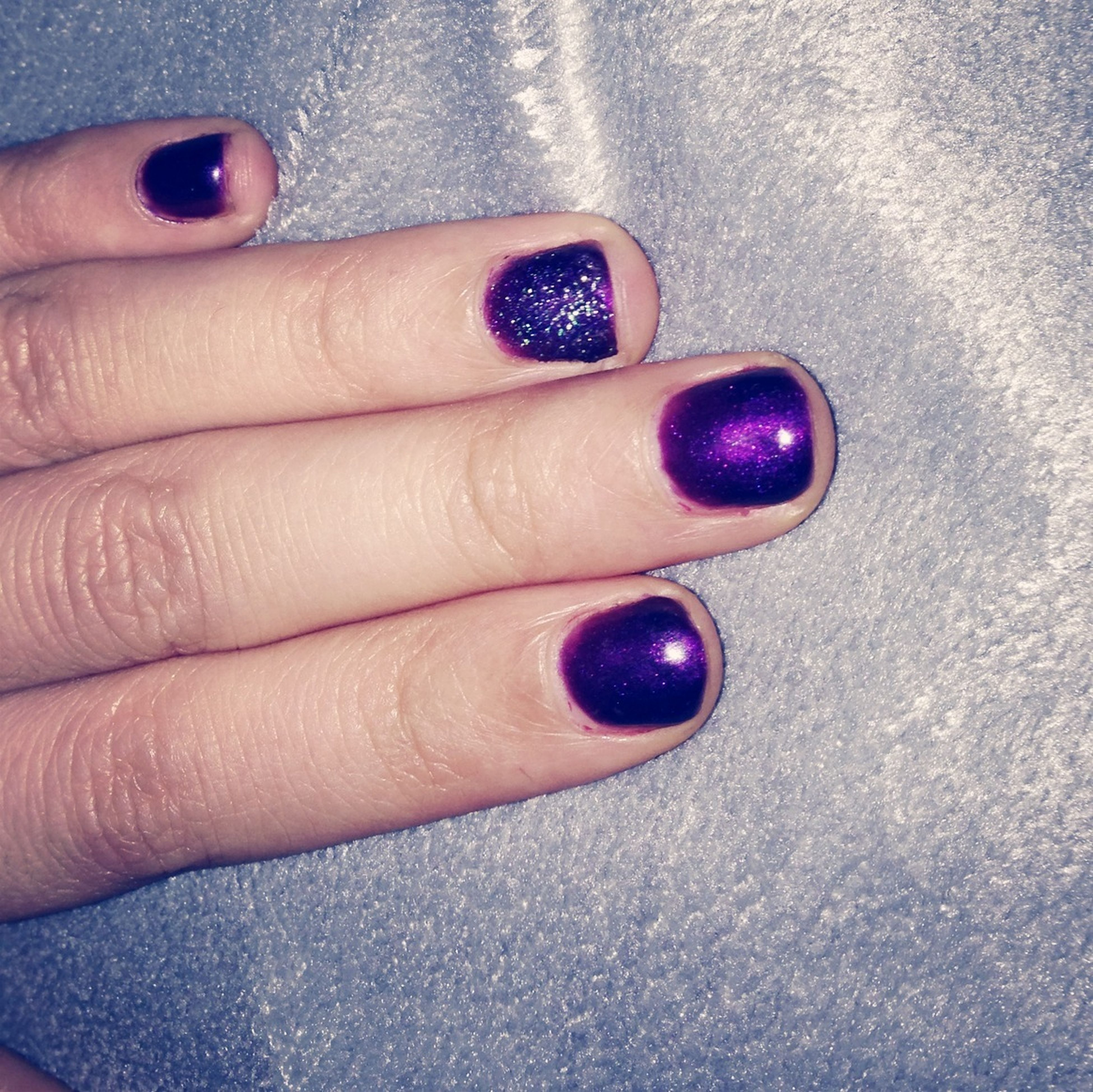 person, part of, holding, human finger, cropped, red, unrecognizable person, personal perspective, lifestyles, close-up, nail polish, fruit, food and drink, leisure activity, high angle view, indoors