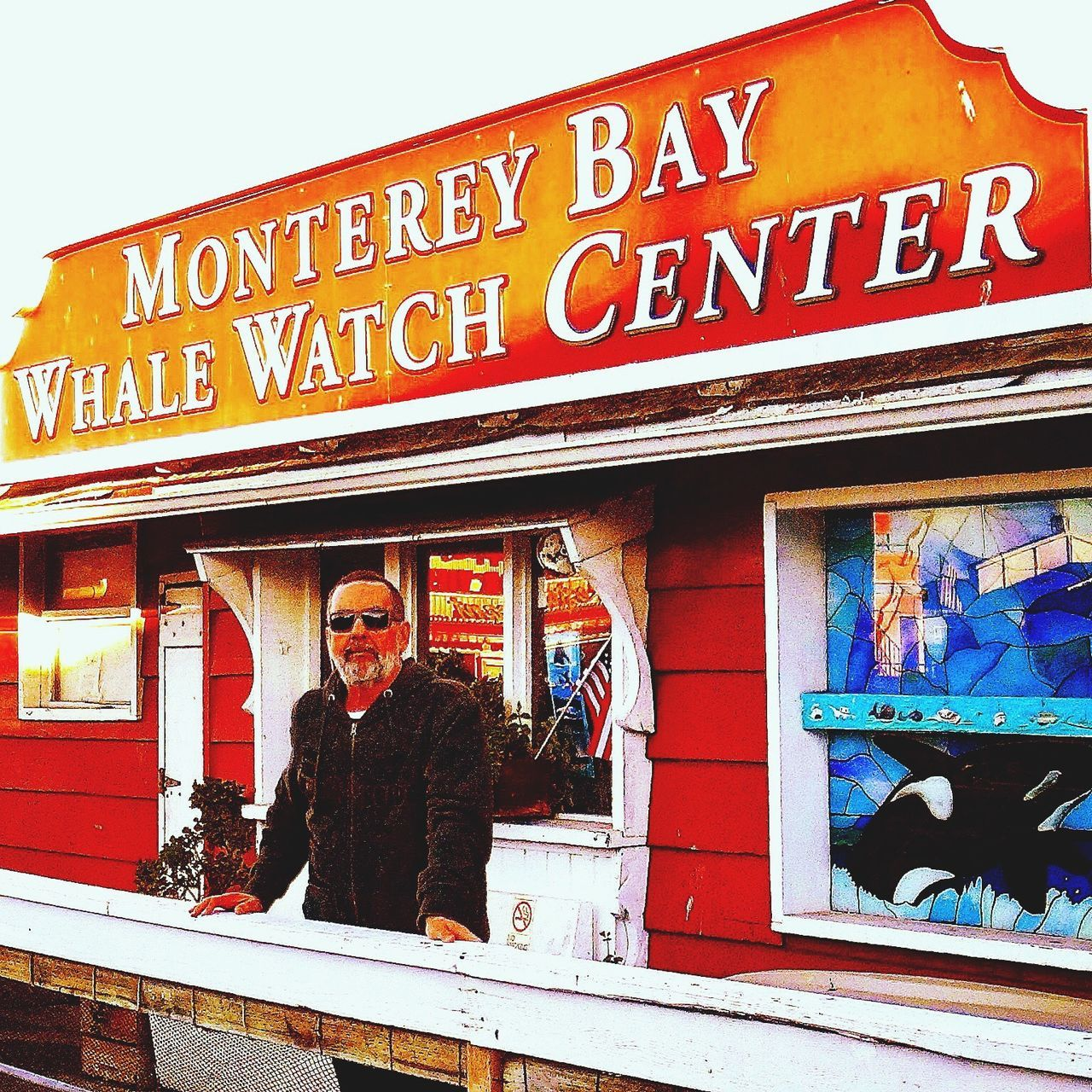 Self Portrait Around The World MONTEREY CALIFORNIA 🇺🇸