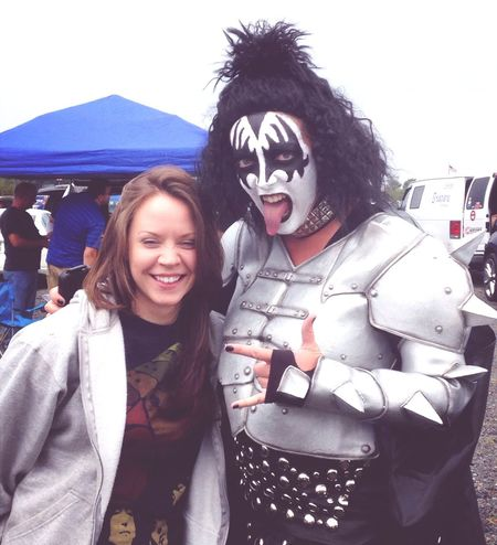 Ran into ' Gene Simmons ' in the Parking Lot