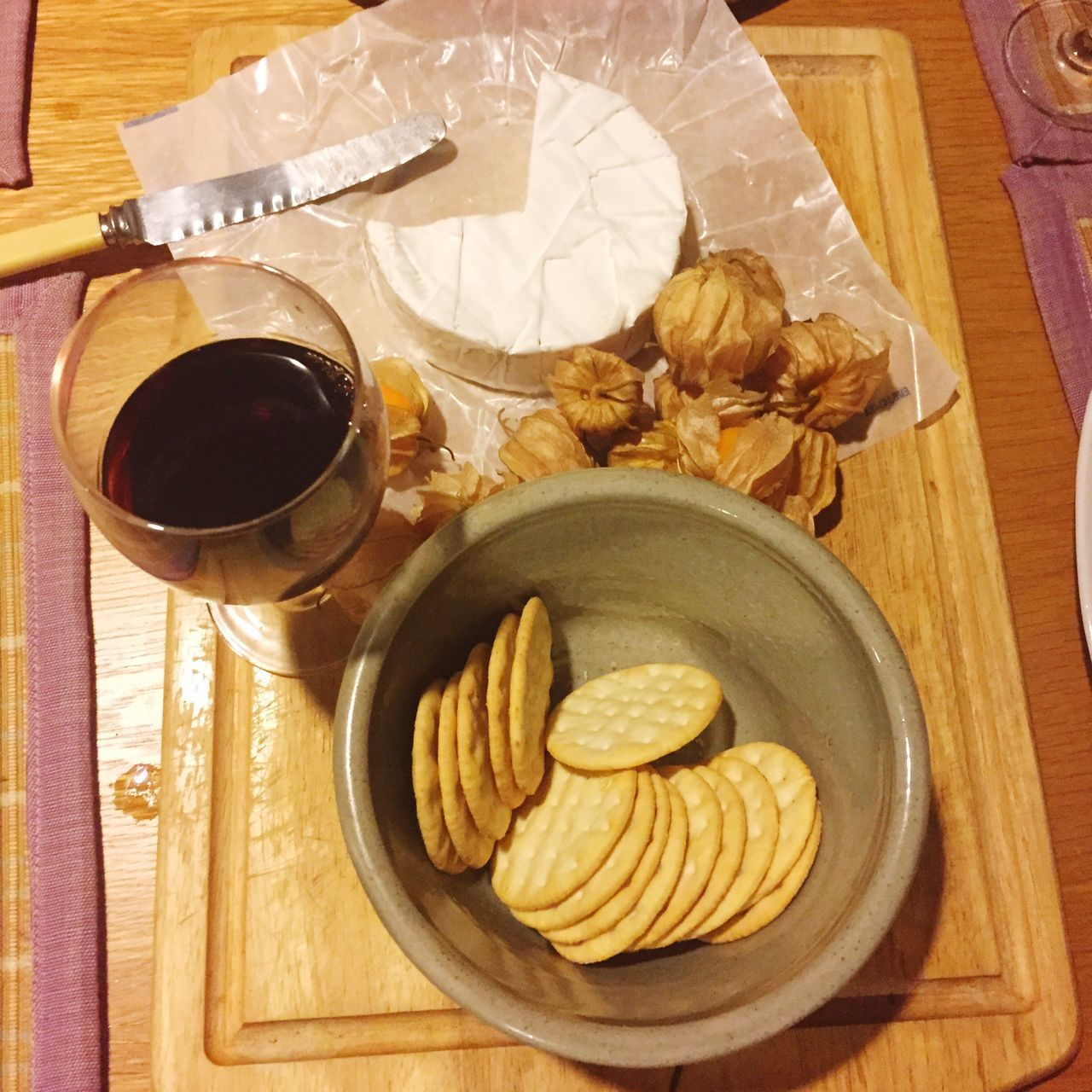 Dinner Vine Chees Goodberry