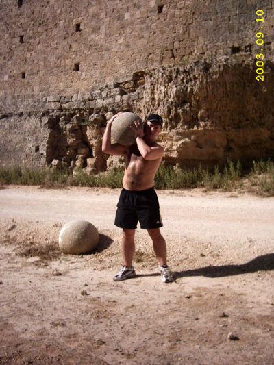 Alternative Fitness My Friend in Rhodes Old Town, Greece Rhodes Greece Rhodes Rhodes, Greece Stone Boulders Boulder Boulders Lifting Boulder Lifting Weights Stone On Your Shoulder