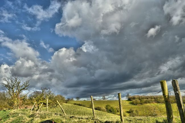 HDR Hdr_Collection Landscape Clouds And Sky Cloudporn Blue Sky Landscape_Collection Outdoor Photography A Walk On The Hills Hilltop Showcase March