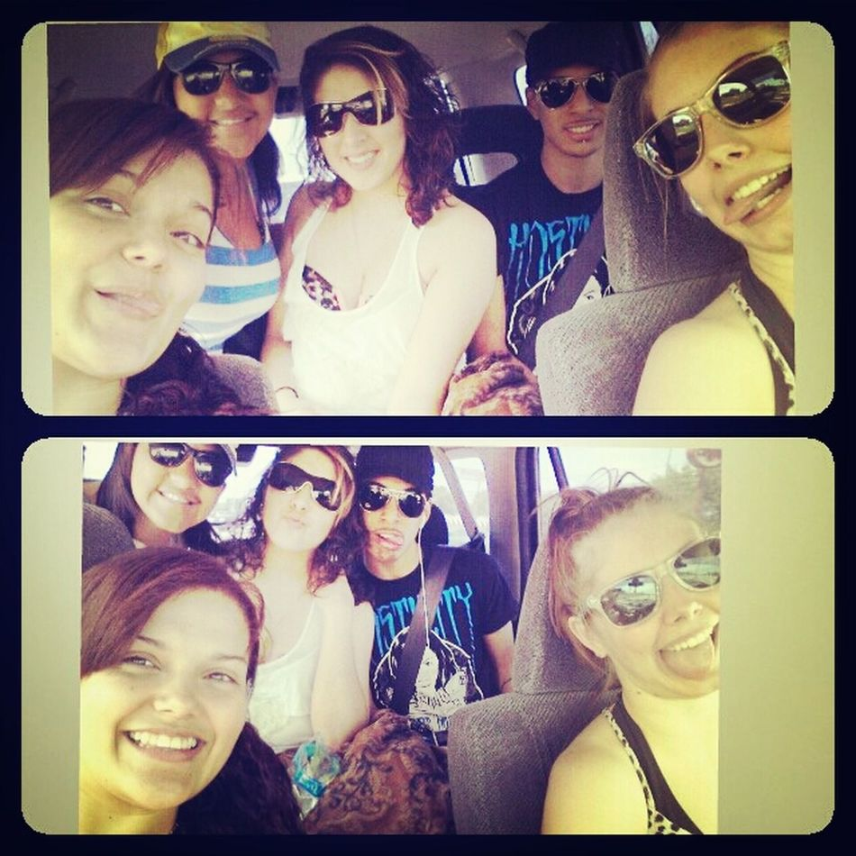 Beach with these bums <3