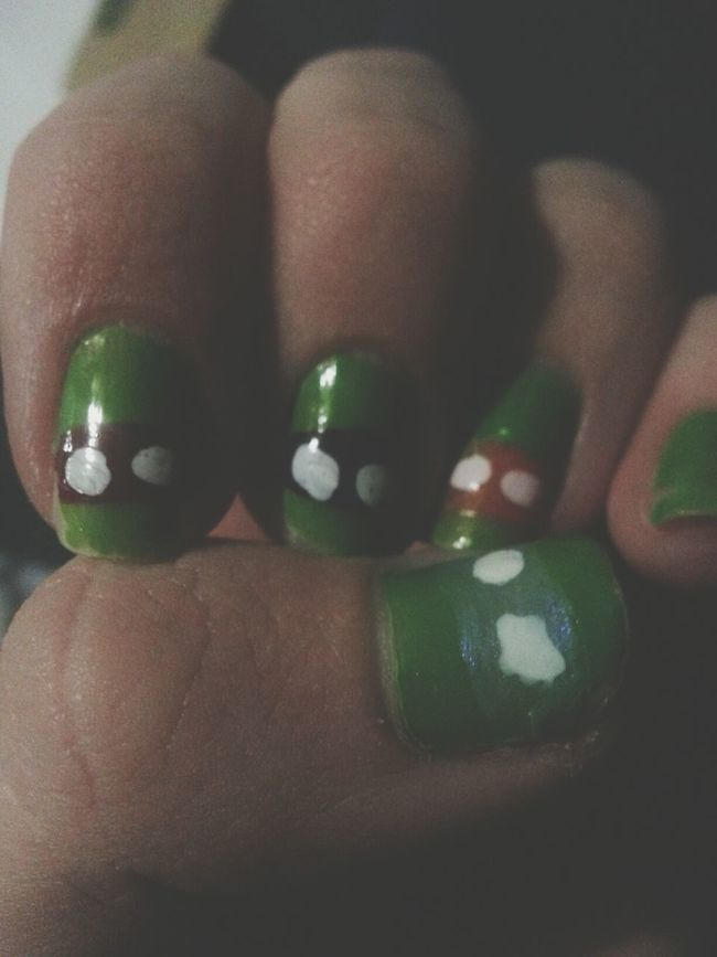 Ninjaturtle Nails
