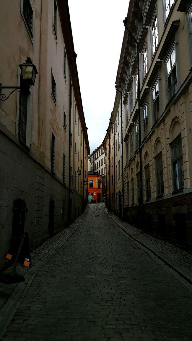 Old Town Stockholm Gamla Stan Fika Perfect Coffee Spot Autumn