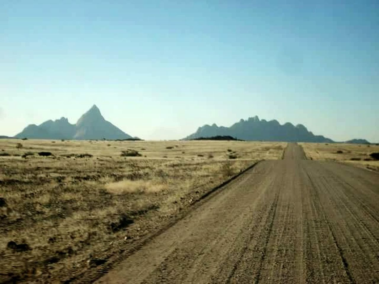 Landscape Desert Outdoors Adventure Clear Sky Rural Scene Mountain Road Beauty In Nature No People EyeEmNewHere
