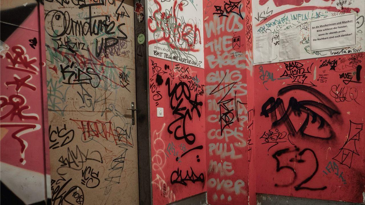 Rote Fabrik kreis magazin Grafitti