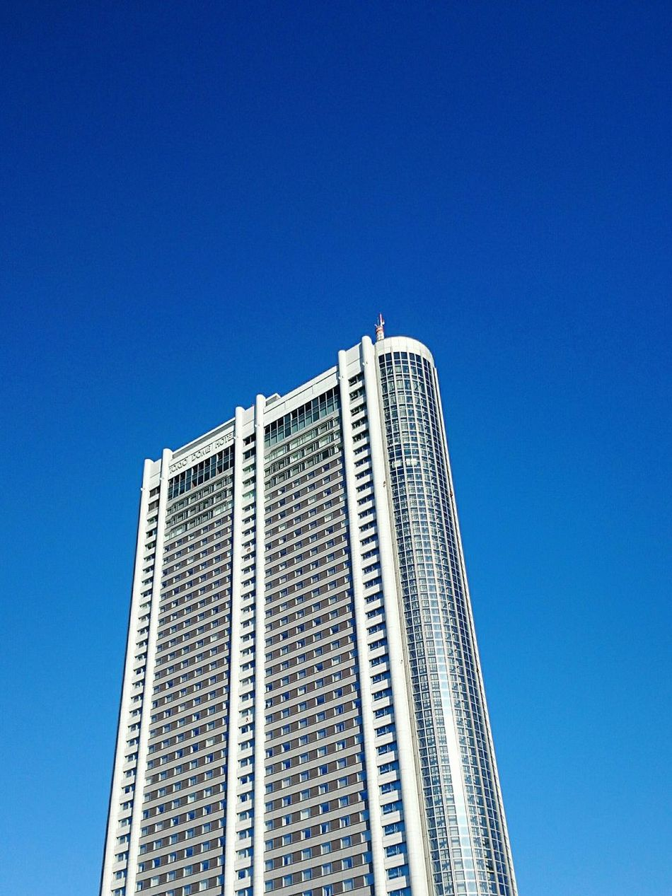 It's Fine Today 本日ハ晴天ナリ Buildings & Sky Blue Sky Mobilephotography