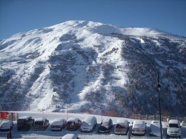Mountains Snow Valmeinier